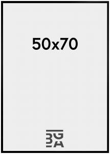 BGA Nordic New Lifestyle Plexiglas Schwarz 50x70 cm