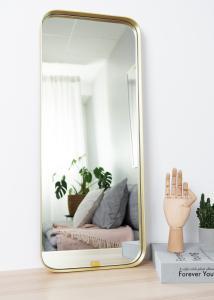 Hübsch Spiegel Square Messing 31x76 cm