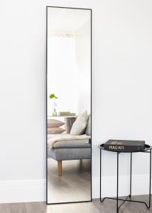 Estancia Spiegel Narrow Schwarz 40x170 cm