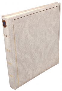 Henzo Henzo Basic Line Fotoalbum Weiß - 28x30 cm (70 weiße Seiten / 35 Blatt)