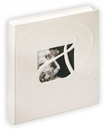 Walther Ti Amo Album - 28x30,5 cm (60 weiße Seiten / 30 Blatt)