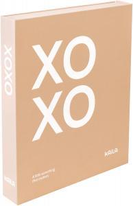 KAILA KAILA XOXO Pink - Coffee Table Photo Album (60 Schwarze Seiten)