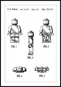 Lagervaror egen produktion Patentritning - Lego I