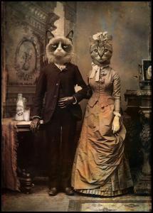 Lagervaror egen produktion Cat Couple