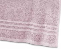 Borganäs of Sweden Badetuch Basic Frottee - Rosa 65x130 cm