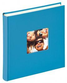 Walther Fun Album Meerblau - 30x30 cm (100 weiße Seiten / 50 Blatt)
