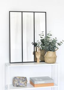 KAILA KAILA Spiegel Sections - Schwarz 60x80 cm