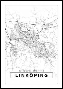 Bildverkstad Map - Linköping - White