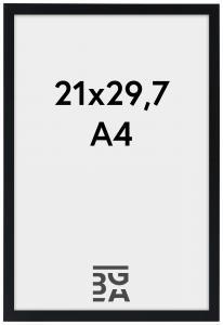 Galleri 1 Rahmen Edsbyn Schwarz 21x29,7 cm (A4)