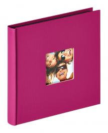 Walther Fun Album Lila - 18x18 cm (30 schwarze Seiten / 15 Blatt)