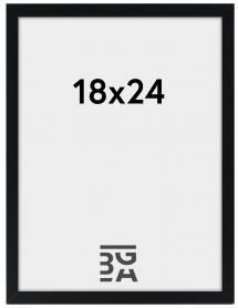 Galleri 1 Rahmen Edsbyn Schwarz 18x24 cm