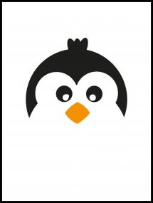 Bildverkstad Penguin Poster