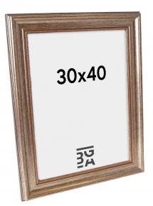 Estancia Rokoko Silber 30x40 cm