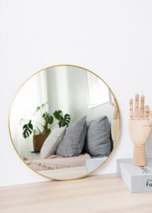 KAILA KAILA Round Mirror - Thin Brass 40 cm Ø