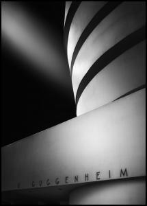 Bildverkstad The Guggenheim Museum Poster
