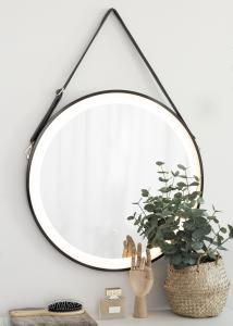 KAILA KAILA Speil Schwarz LED 60 cm Ø