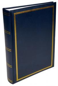 Exclusive Line Super Album Blau - 300 Bilder 10x15 cm