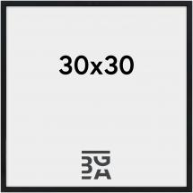 Konstlist - Nielsen Nielsen Premium Alpha Blank Svart 30x30 cm