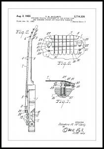 Bildverkstad Patentzeichnung - E-Gitarre II
