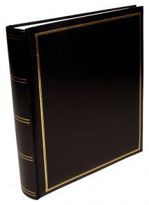 BGA Nordic Exclusive Line Maxi Album Schwarz 30x33 cm (100 weiße Seiten / 50 Blatt)