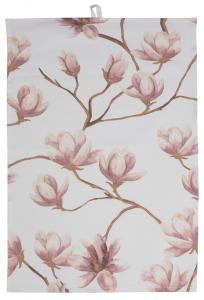 Fondaco Geschirrtuch Magnolia - Rosa