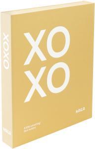 KAILA KAILA XOXO Yellow - Coffee Table Photo Album (60 Schwarze Seiten)