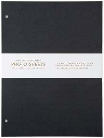 Focus Refill Sheets - Coffee Table Photo Album 10 pcs (L)
