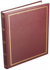 Estancia Diamant Album selbstklebend Rot - 29x32 cm (40 Seiten)