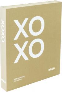 KAILA KAILA XOXO Vanilla - Coffee Table Photo Album (60 Schwarze Seiten)