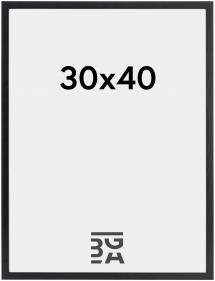 Estancia Rahmen Galant Schwarz 30x40 cm