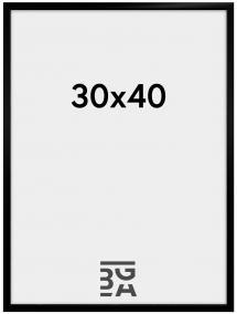 BGA Nordic New Lifestyle Schwarz 30x40 cm