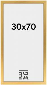 Galleri 1 Gold Wood 30x70 cm