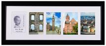 Artlink Schwarz Collage-Rahmen - 5 Bilder