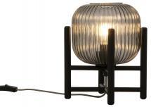 Aneta Belysning Tischlampe Vinda Klein - Schwarz/Rauch