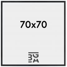 Estancia Rahmen Stilren Schwarz 70x70 cm