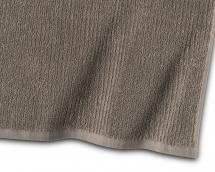 Borganäs of Sweden Gästehandtuch Stripe Frottee - Braun 30x50 cm