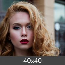 Egen tillverkning - Kundbild Vergrößerung Standard - Photo Luster 260 g