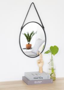 Artlink Spegel Lea Svart 35x45 cm