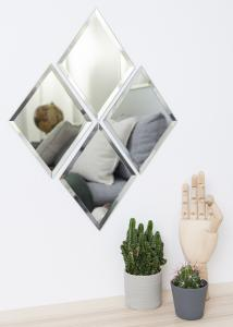 House Doctor Spiegel House Doctor Diamond Klar 16x22 cm
