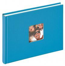 Walther Fun Album Meerblau - 22x16 cm (40 weiße Seiten / 20 Blatt)