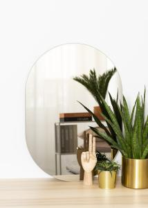 KAILA KAILA Spiegel Oval Dark Bronze 50x70 cm