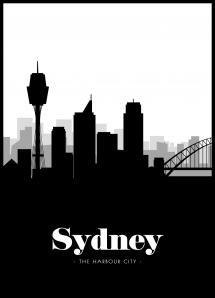 Bildverkstad Sydney Skyline