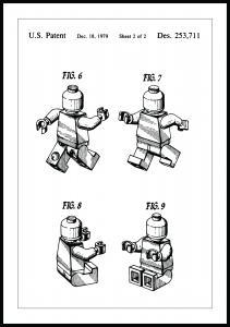 Lagervaror egen produktion Patentzeichnung - Lego II