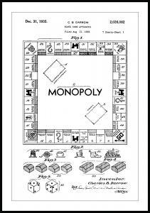 Bildverkstad Patentzeichnung - Monopoly I