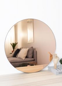 Society of Lifestyle Spiegel House Doctor Walls Rosegold 80 cm Ø