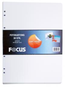 Focus Albumblätter Timesaver SA4 - 30 weiße Bögen