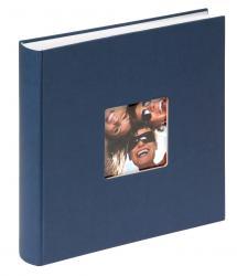 Walther Fun Album Blau - 30x30 cm (100 weiße Seiten / 50 Blatt)