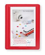 Focus Polaroid Album Rot - 28 Bilder 5x7,6 cm